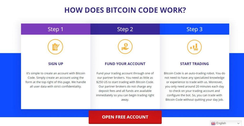 bitcoin code freesignup