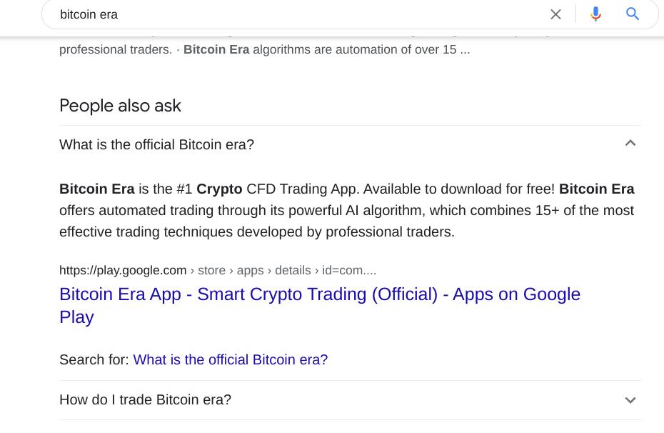 Fake Bitcoin Era Reviews