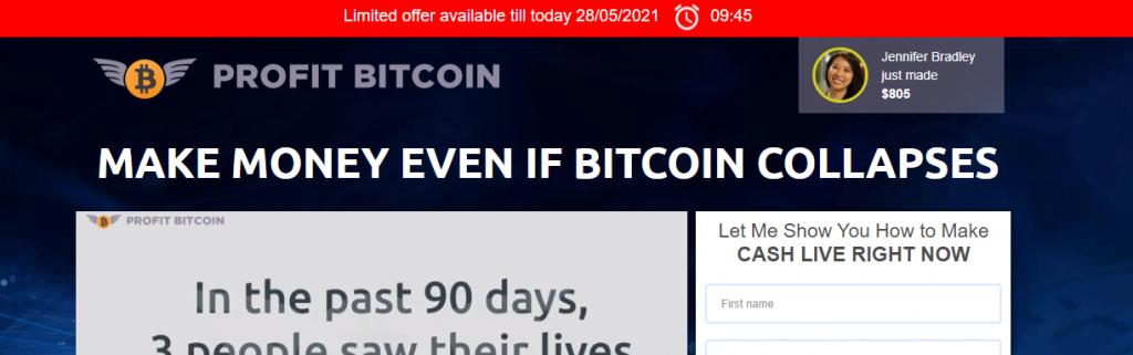 Bitcoin profit, fear of loss