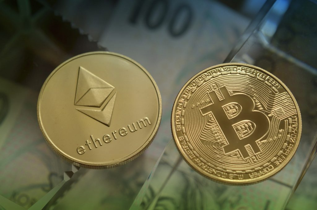 You can buy both btc and eth