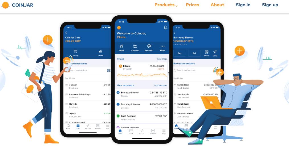 Coinjar mobile ap review