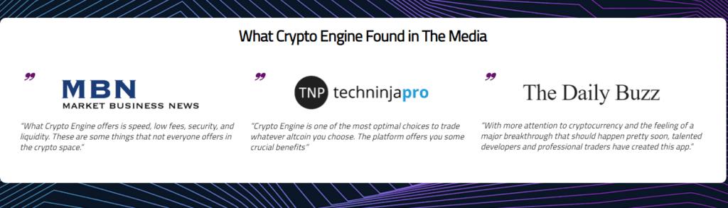 crypto engine testimonials