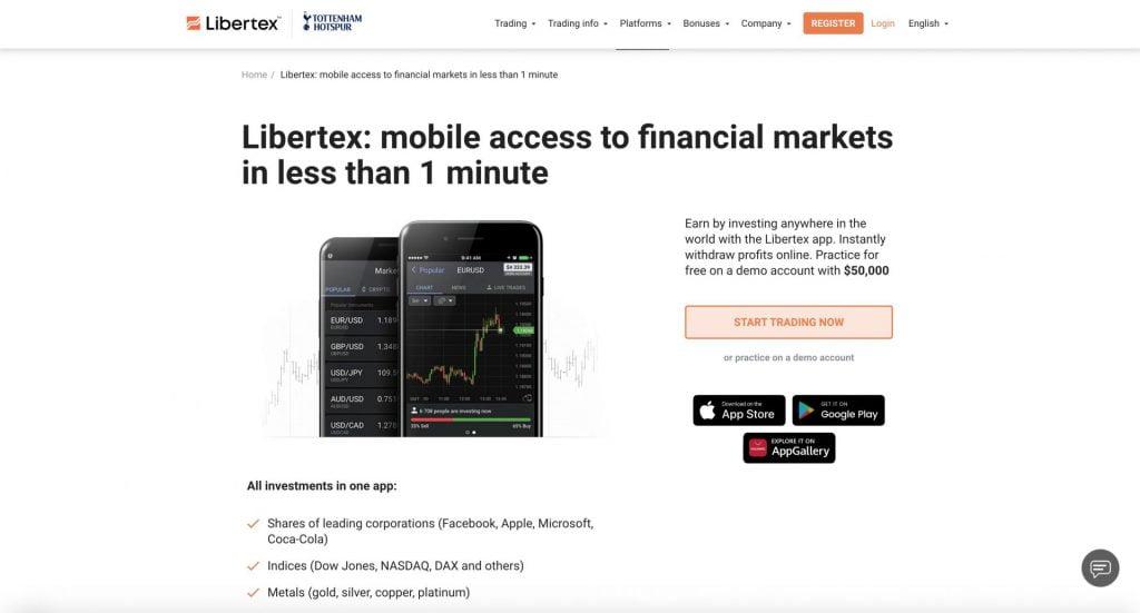 libertex usability
